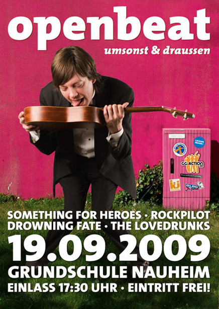 Openbeat Flyer 2009